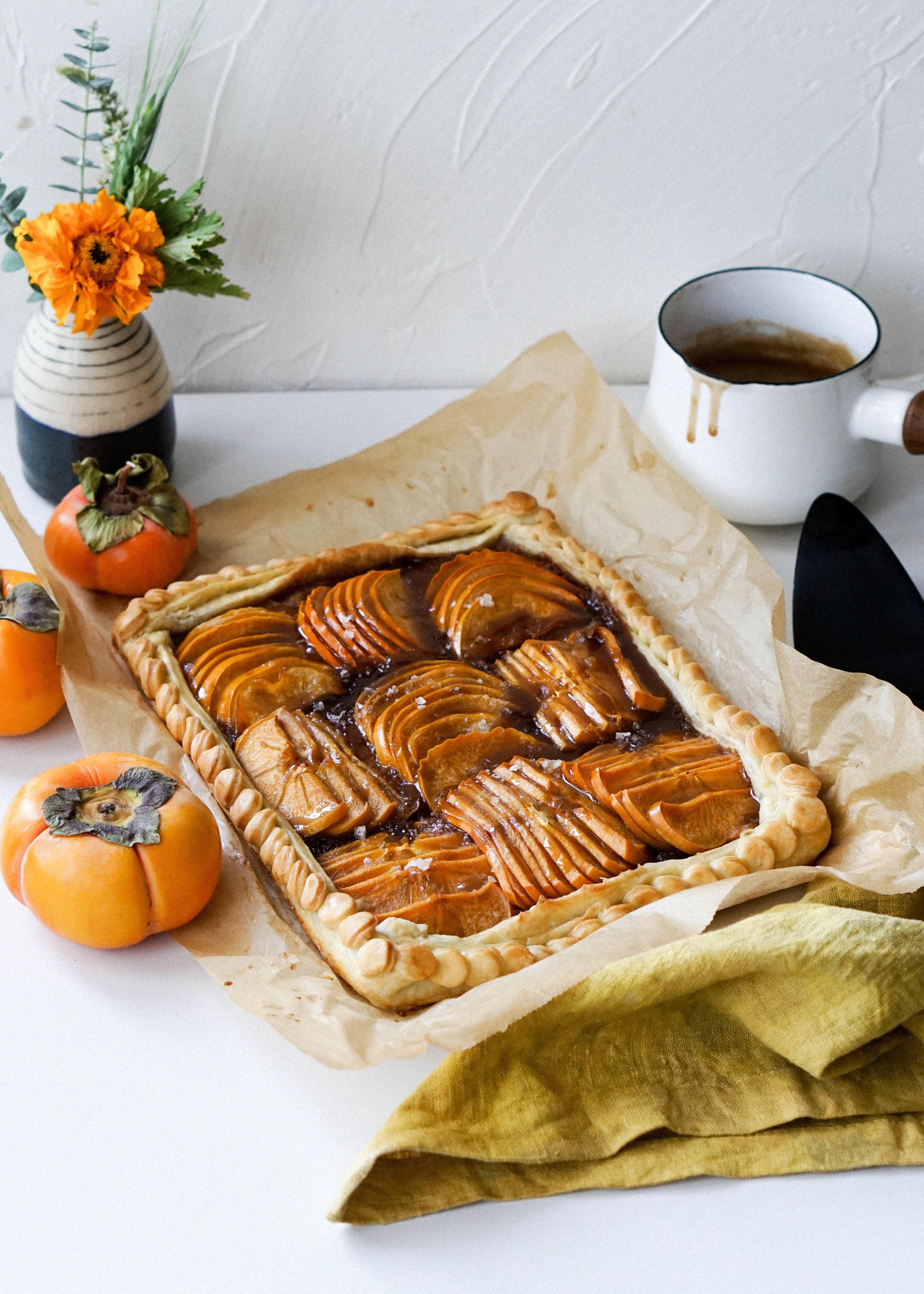Bourbon Persimmon Galette // Eat Cho Food