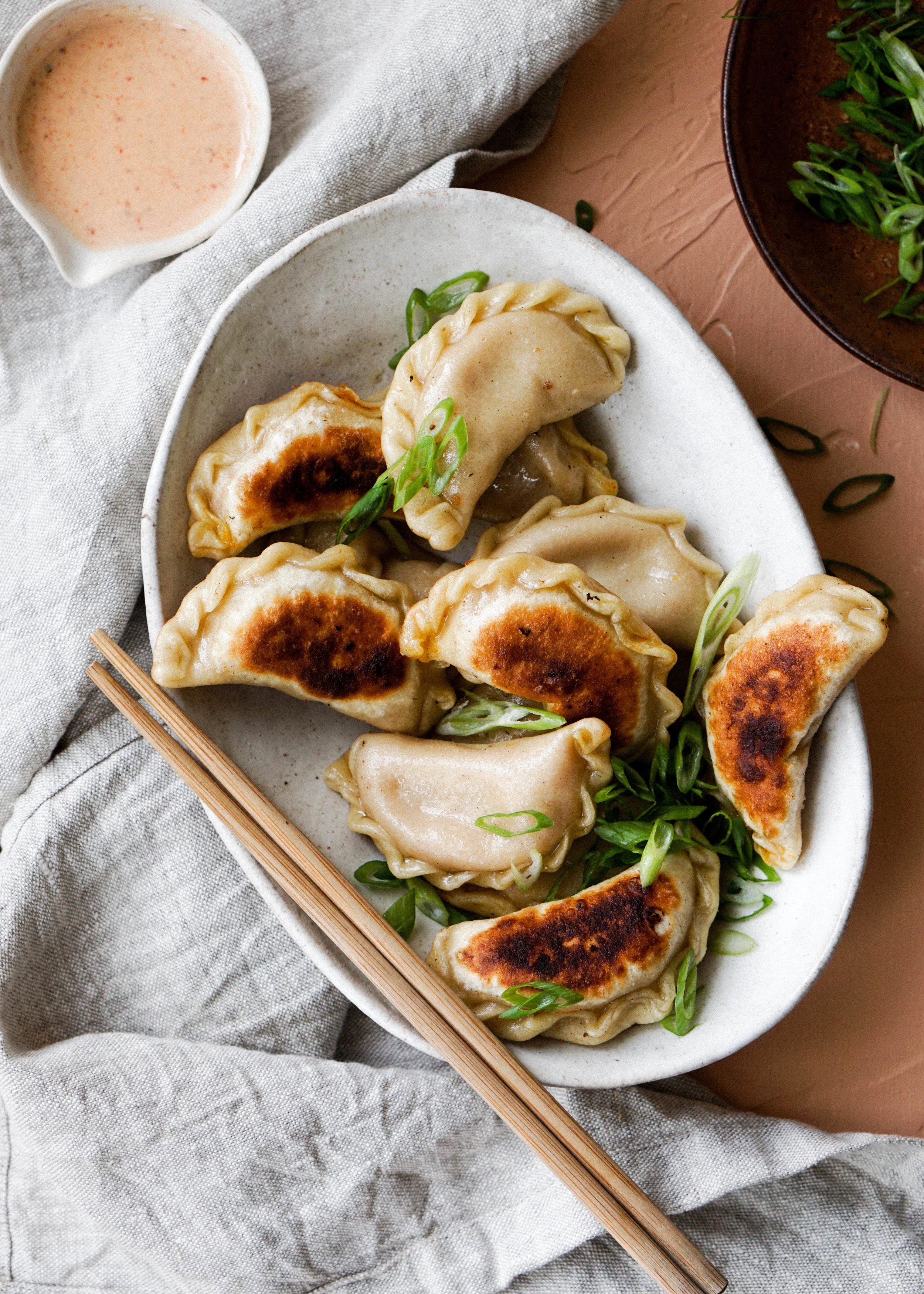 Pumpkin Curry Dumplings // Eat Cho Food
