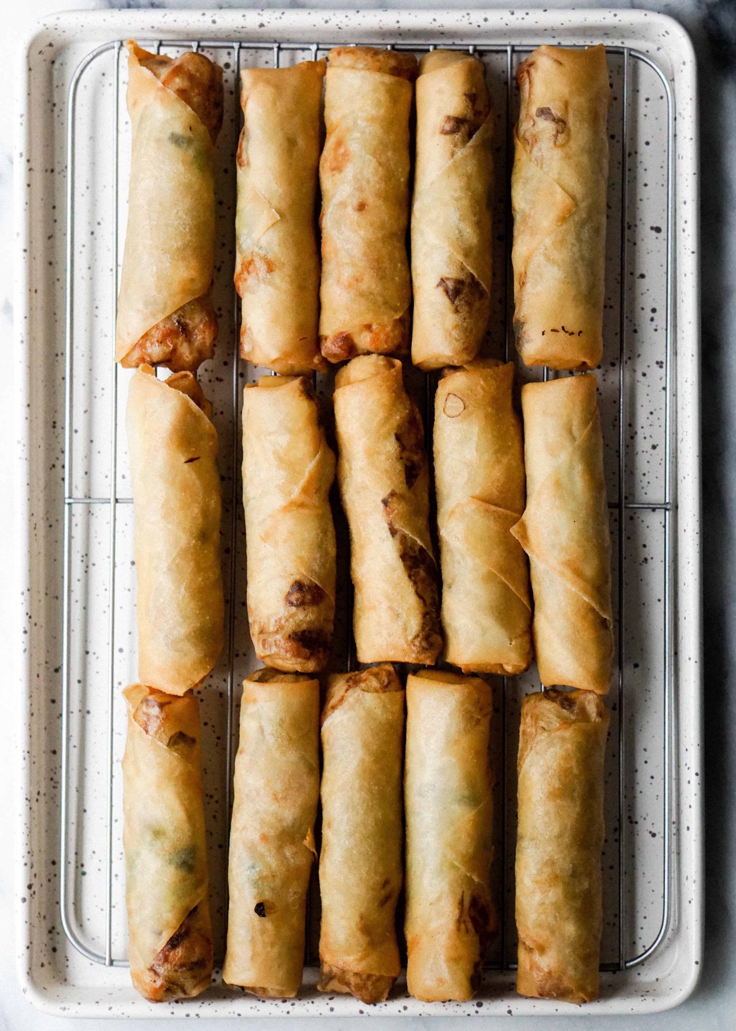 Chicken and Cabbage Spring Rolls // https://eatchofood.com/blog/2019/1/6/chicken-and-cabbage-spring-rolls
