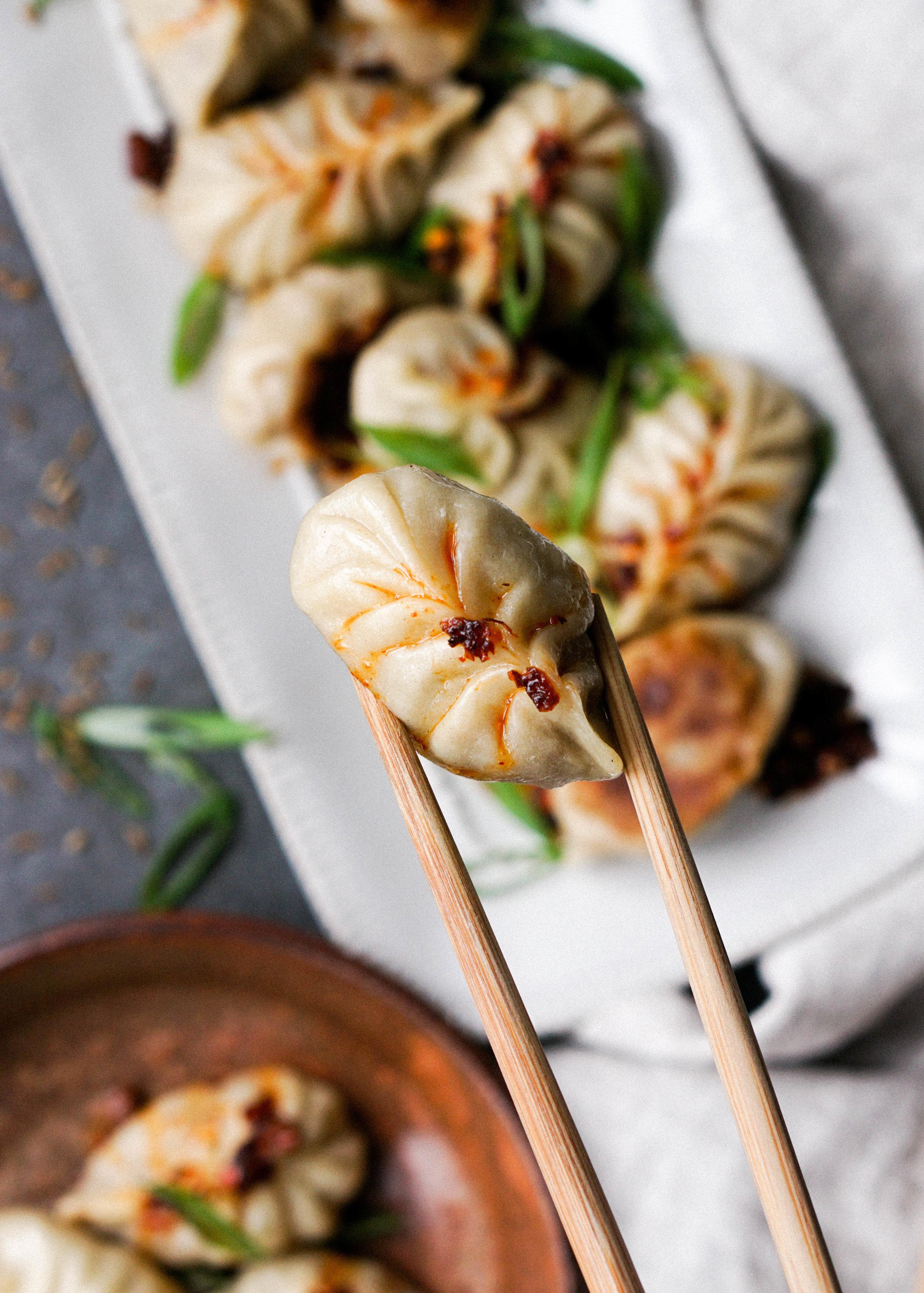 Cumin Lamb Dumplings // https://eatchofood.com/blog/2019/1/12/cumin-lamb-dumplings