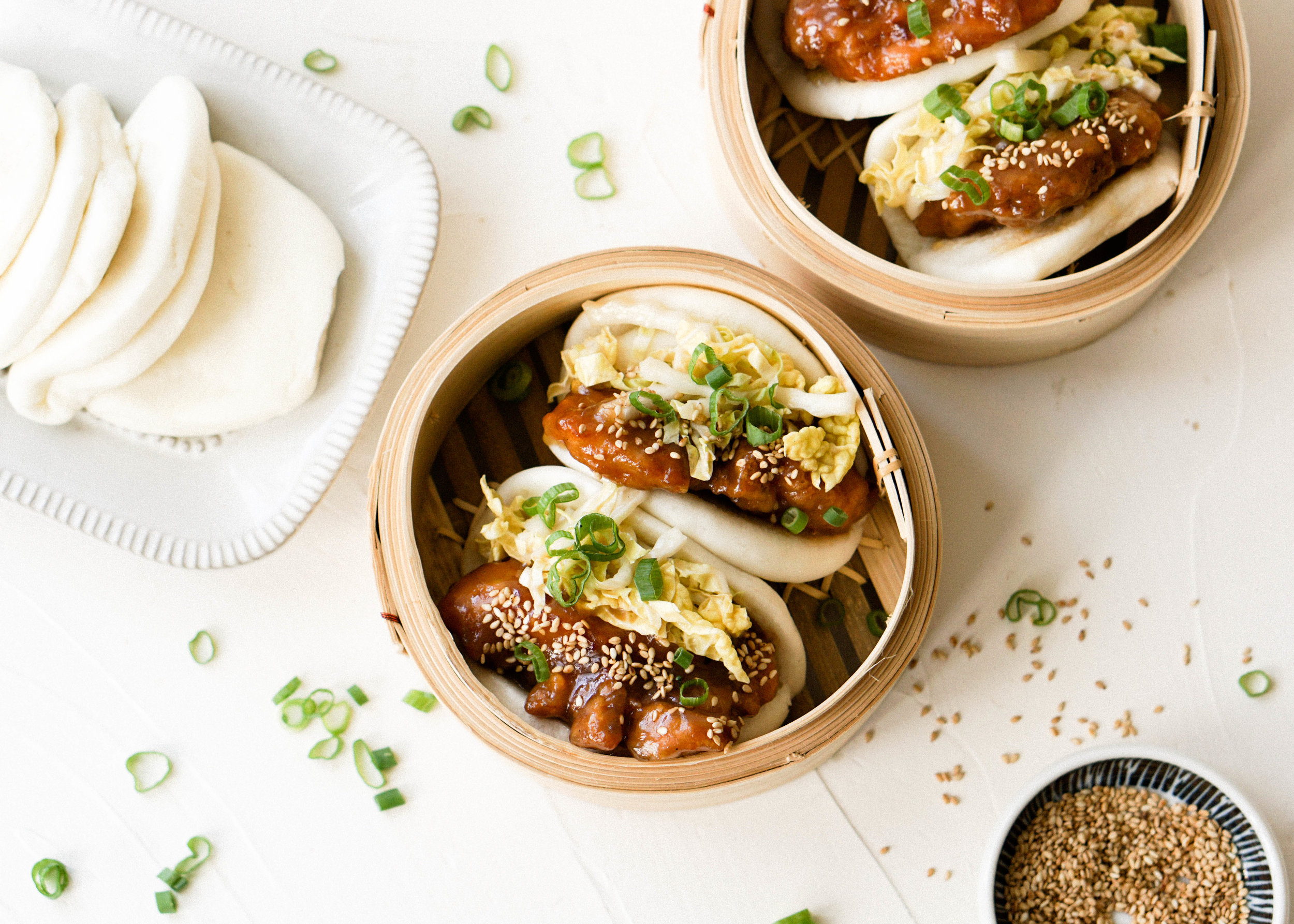 Sesame Chicken Gua Bao - Eat Cho Food
