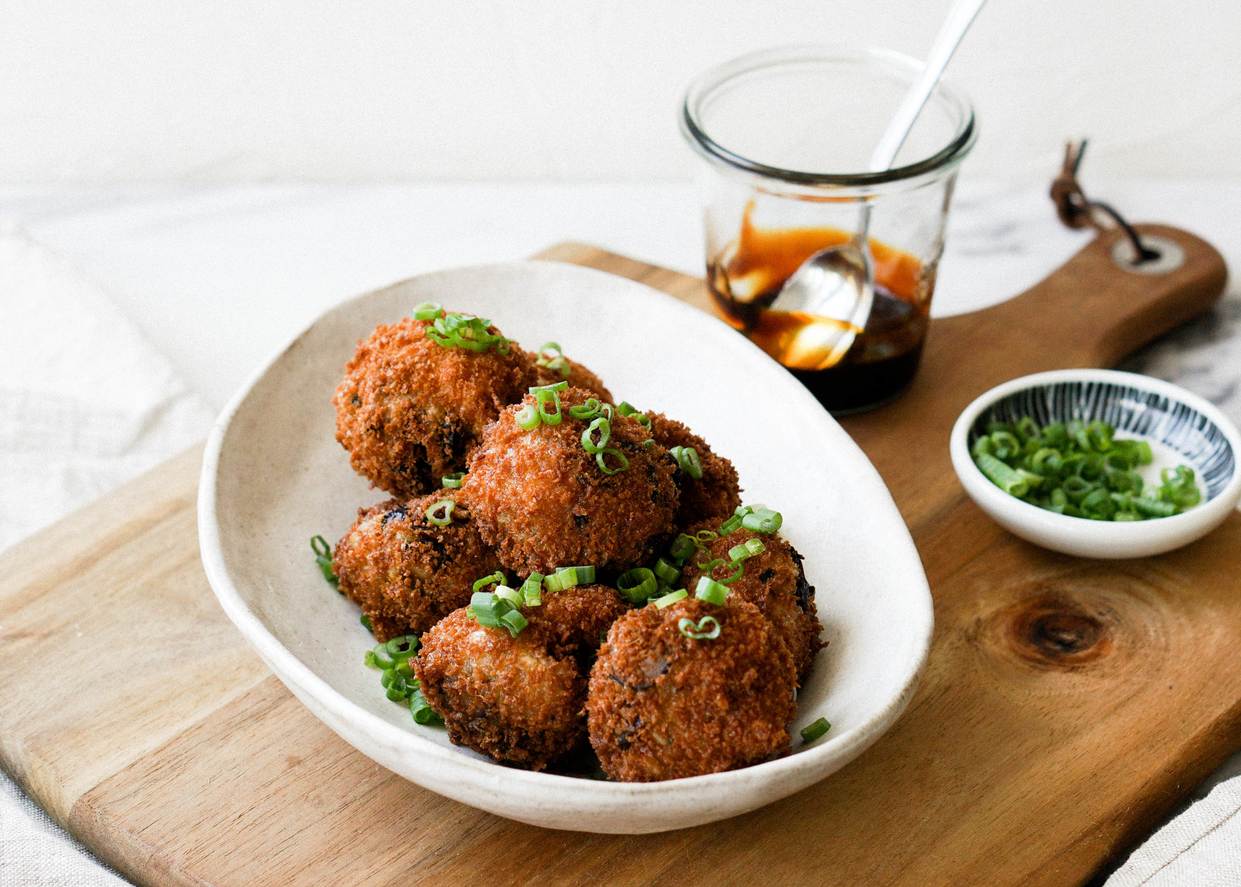 Sticky Rice Arancini - Eat Cho Food