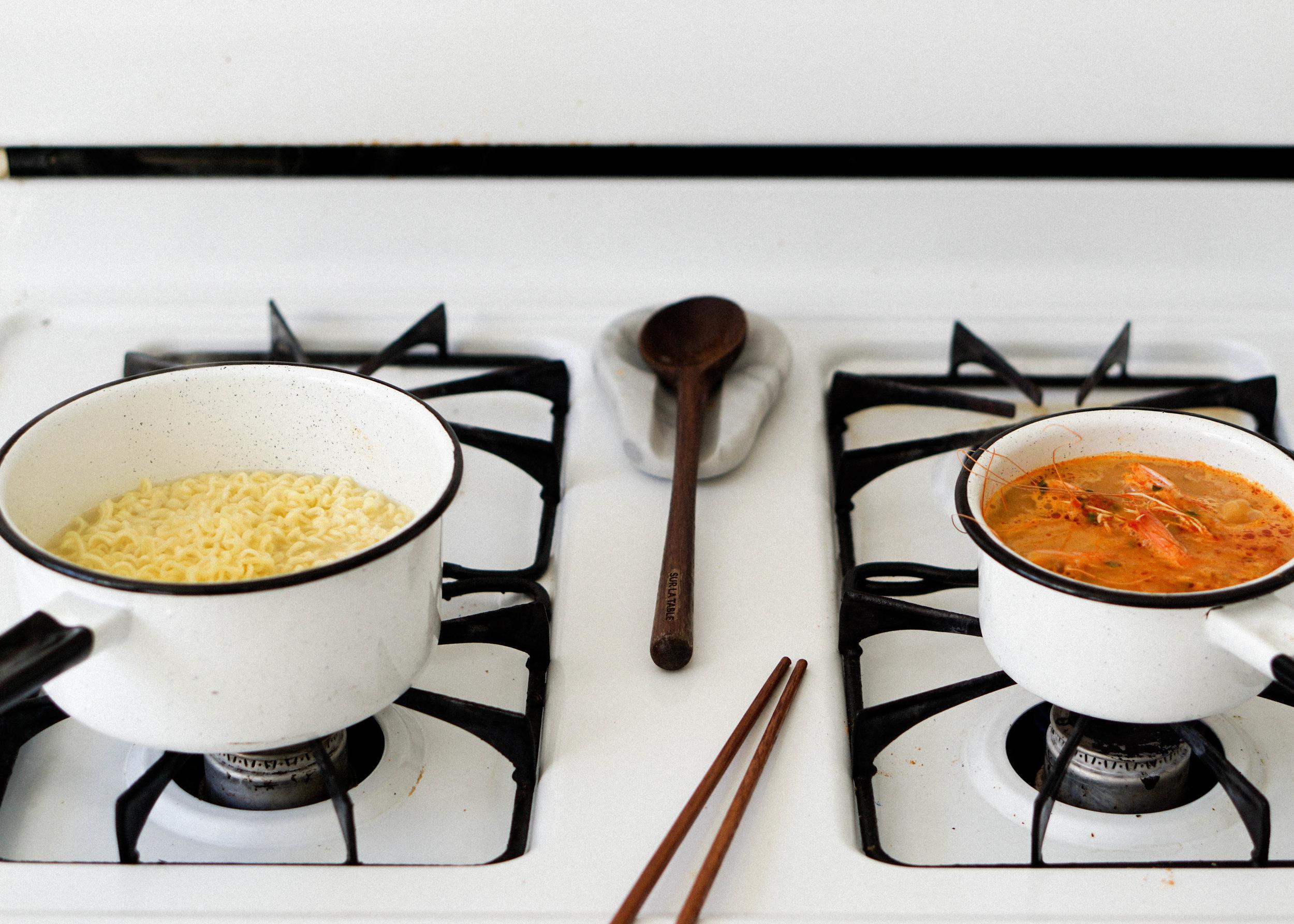 Coconut Sesame Ramen - Eat Cho Food