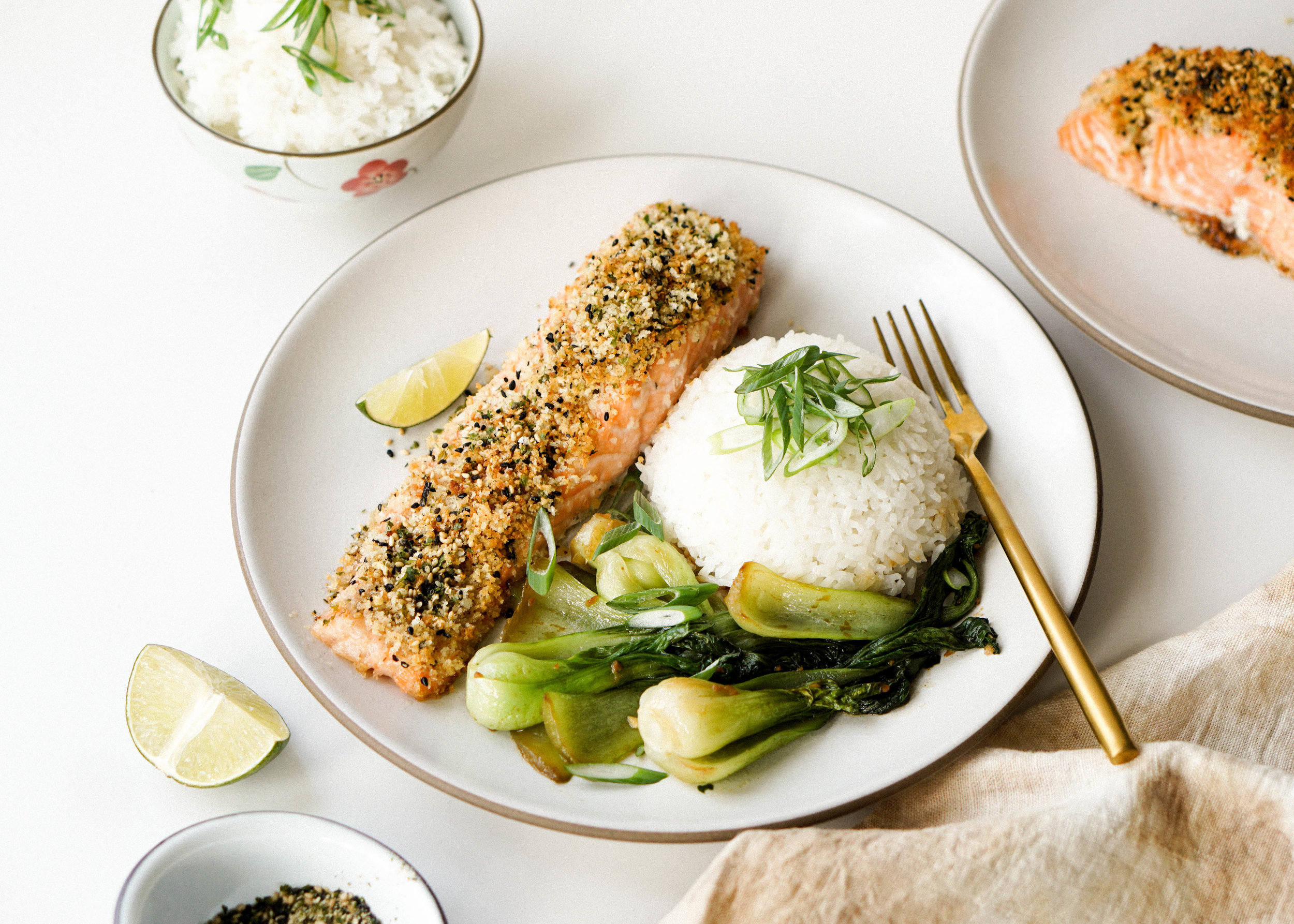 Furikake Panko Salmon - Eat Cho Food