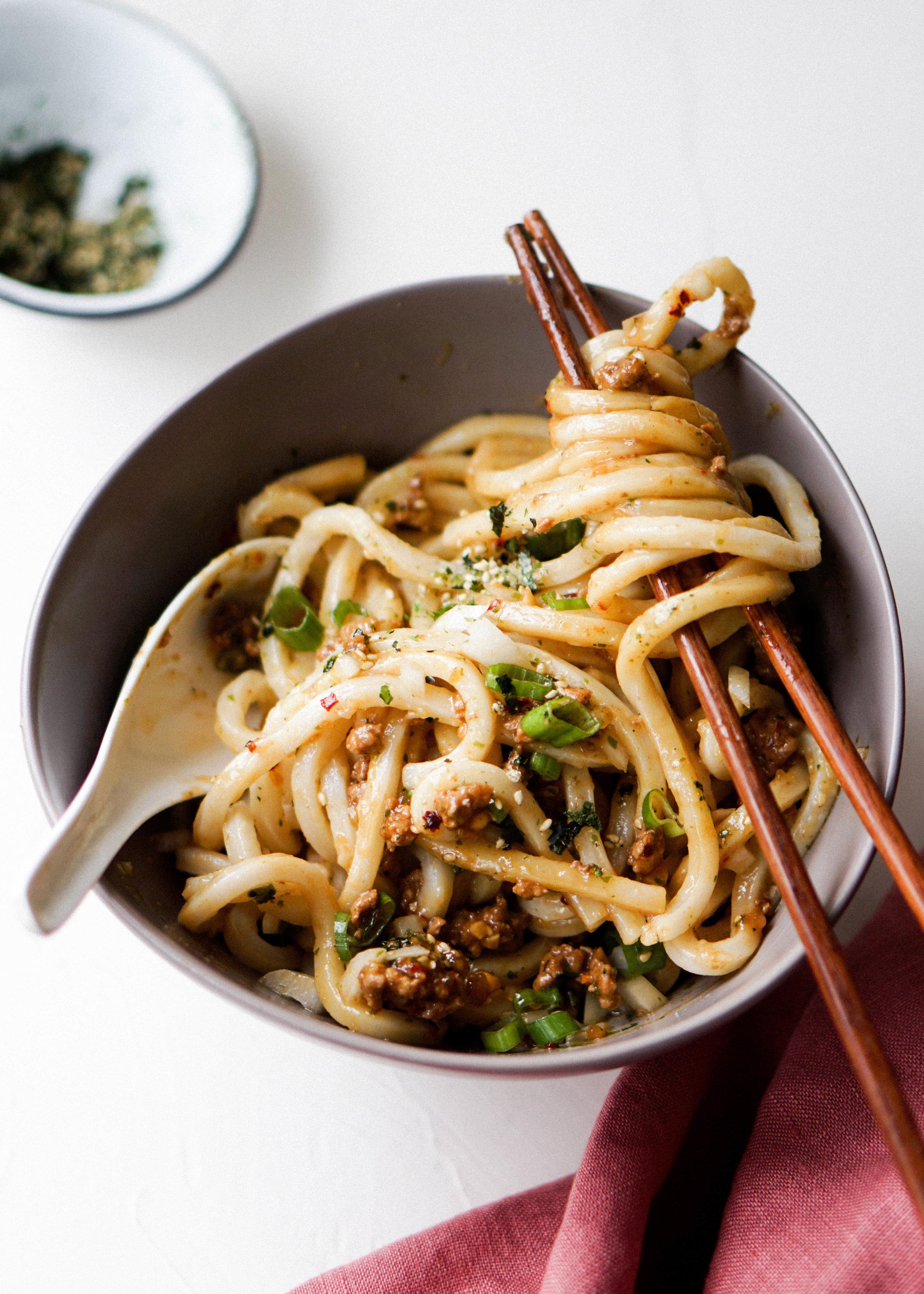 Spicy Pork Mazesoba - Eat Cho Food