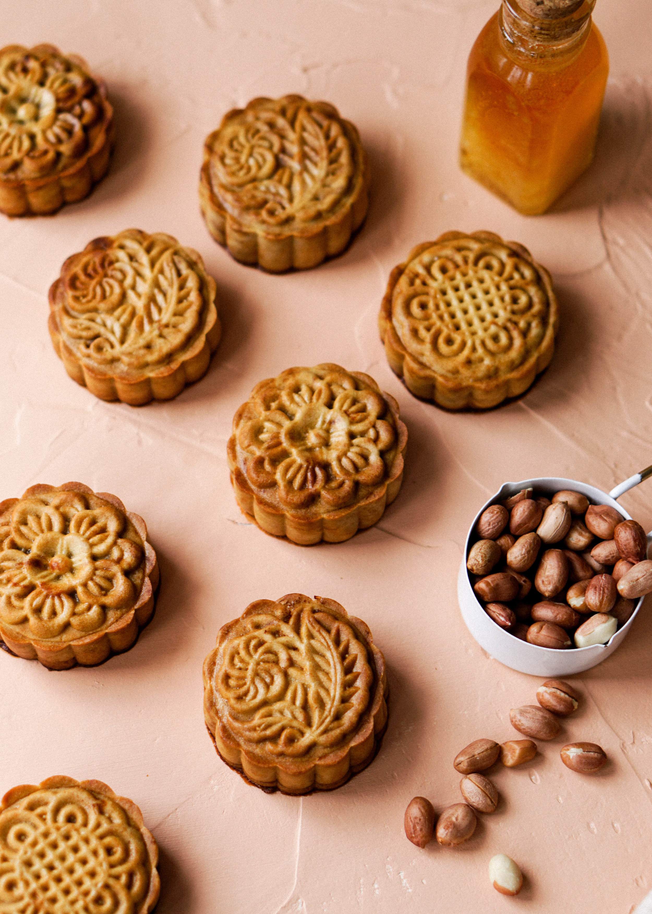 Honey Salted Peanut Mooncake Recipe - Eat Cho Food