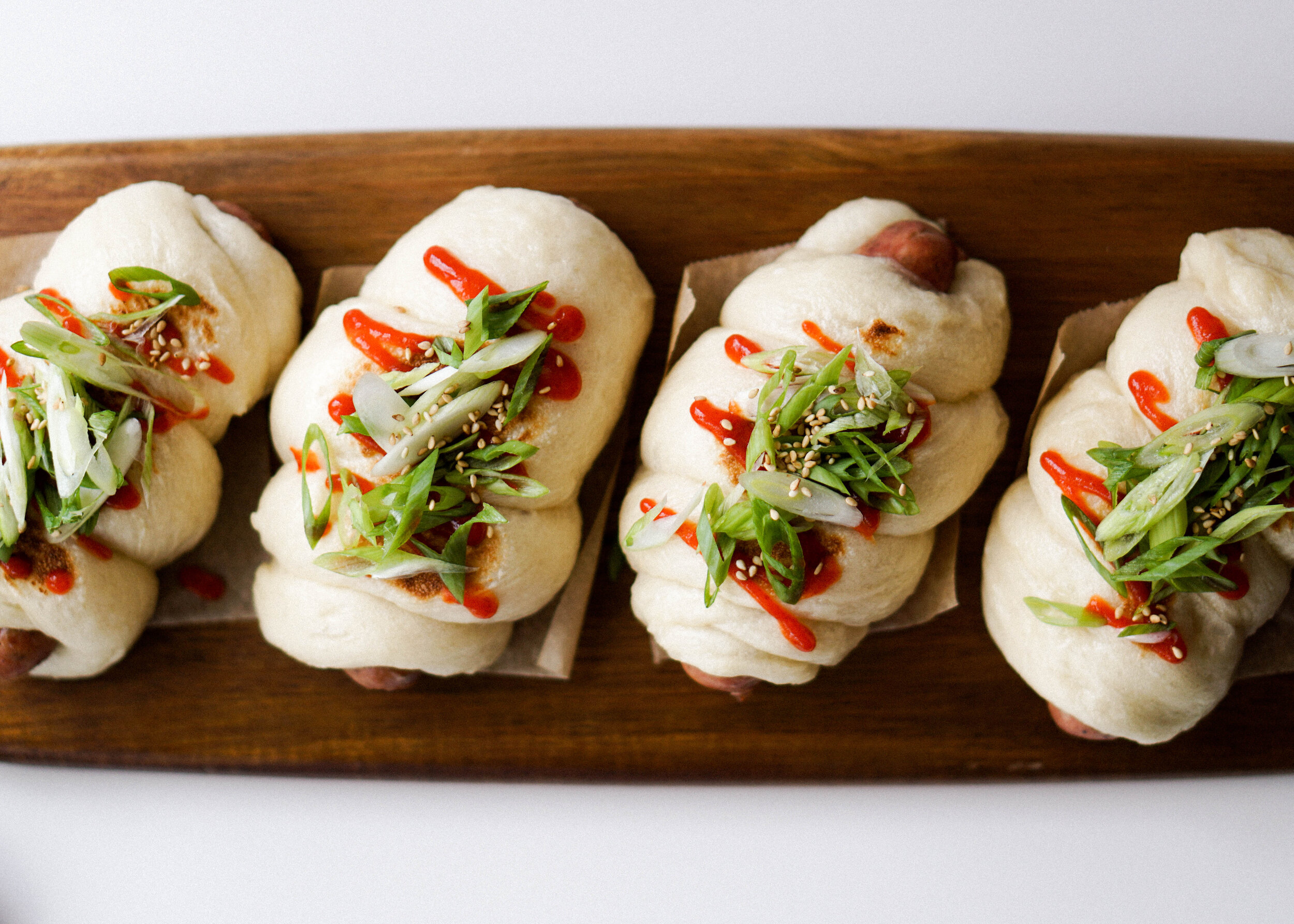 Chicken Sausage Steamed Buns Recipe - Eat Cho Food