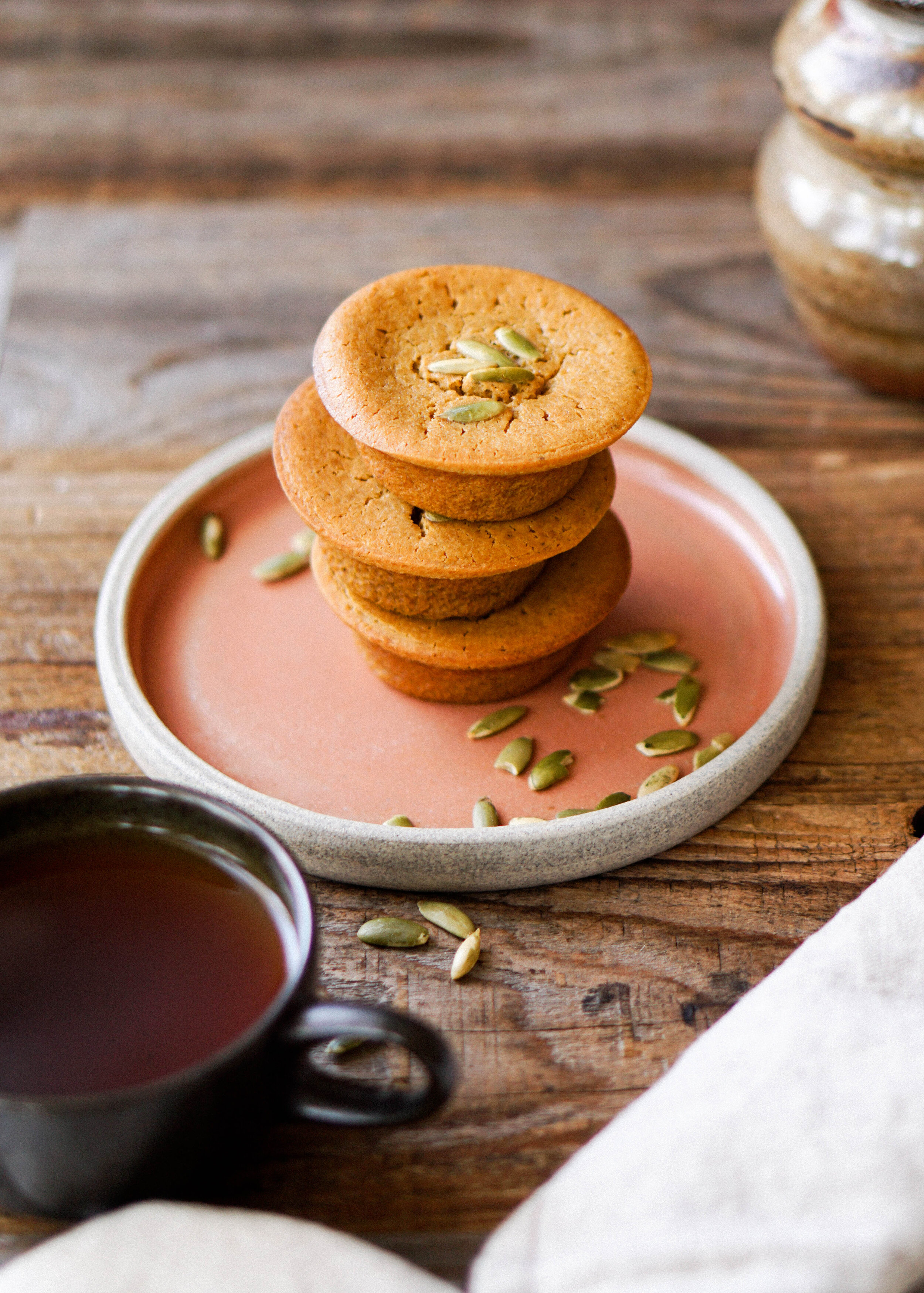 Pumpkin Mochi Muffin Recipe - Eat Cho Food