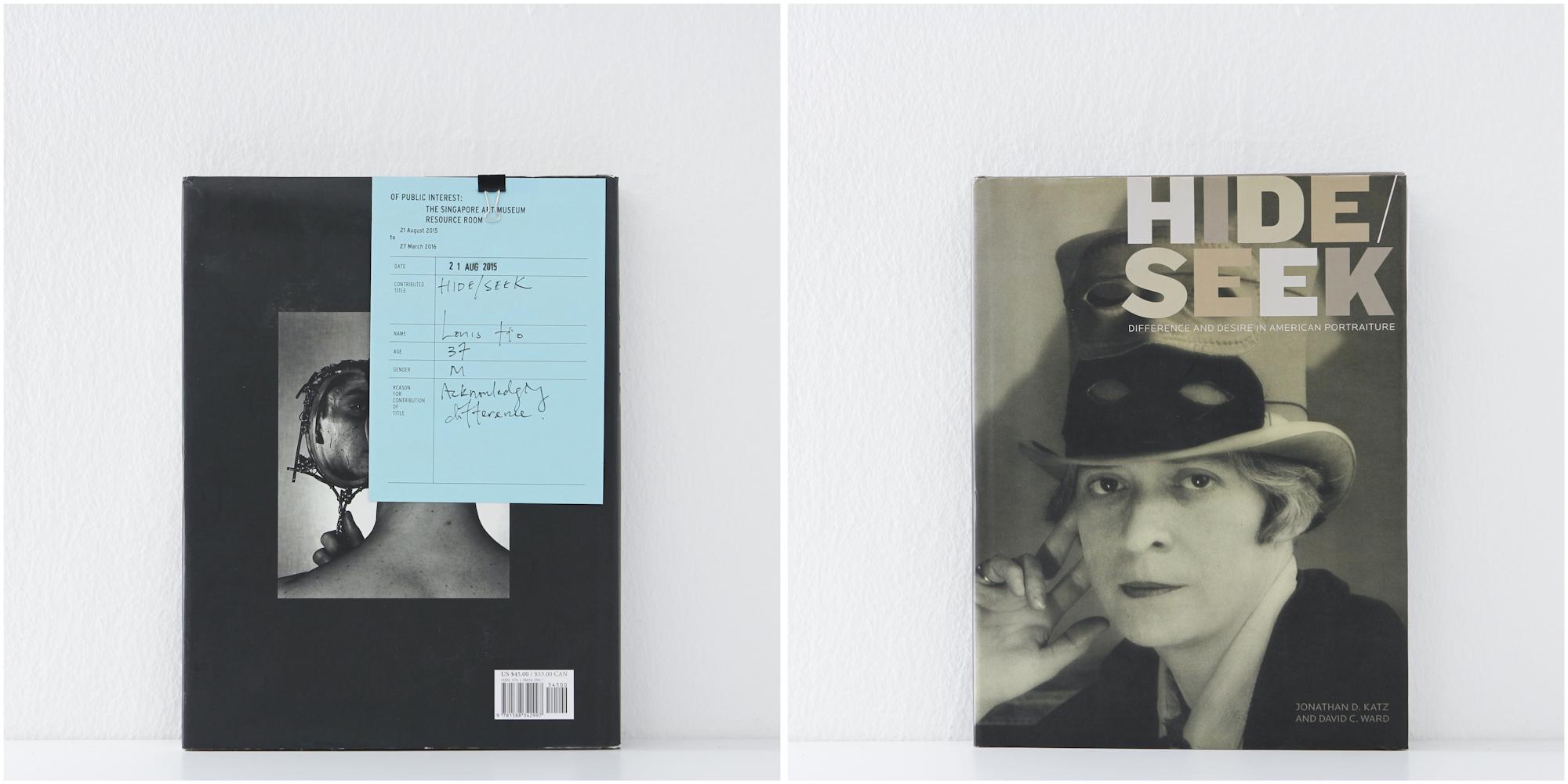 'Hide/Seek', 20/8/15, Louis Ho, 37, Male