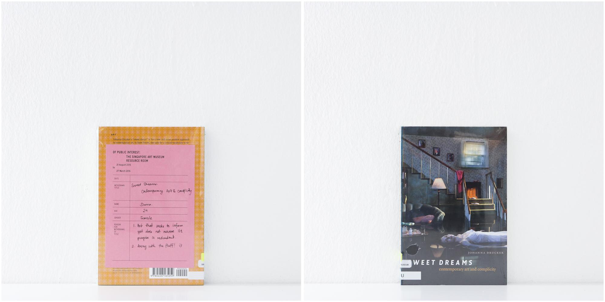 'Sweet Dreams: Contemporary Art & Complicity', no date, Danna, 24, Female