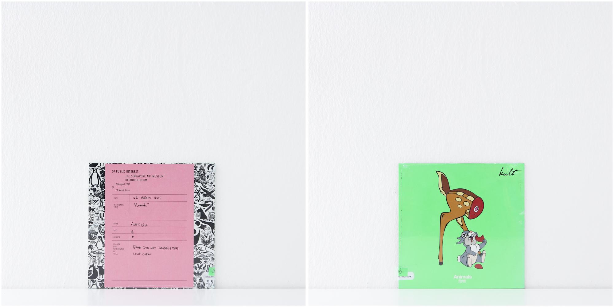 'Kult, Animals', 28/8/15, Alexis Chok, 18, Female