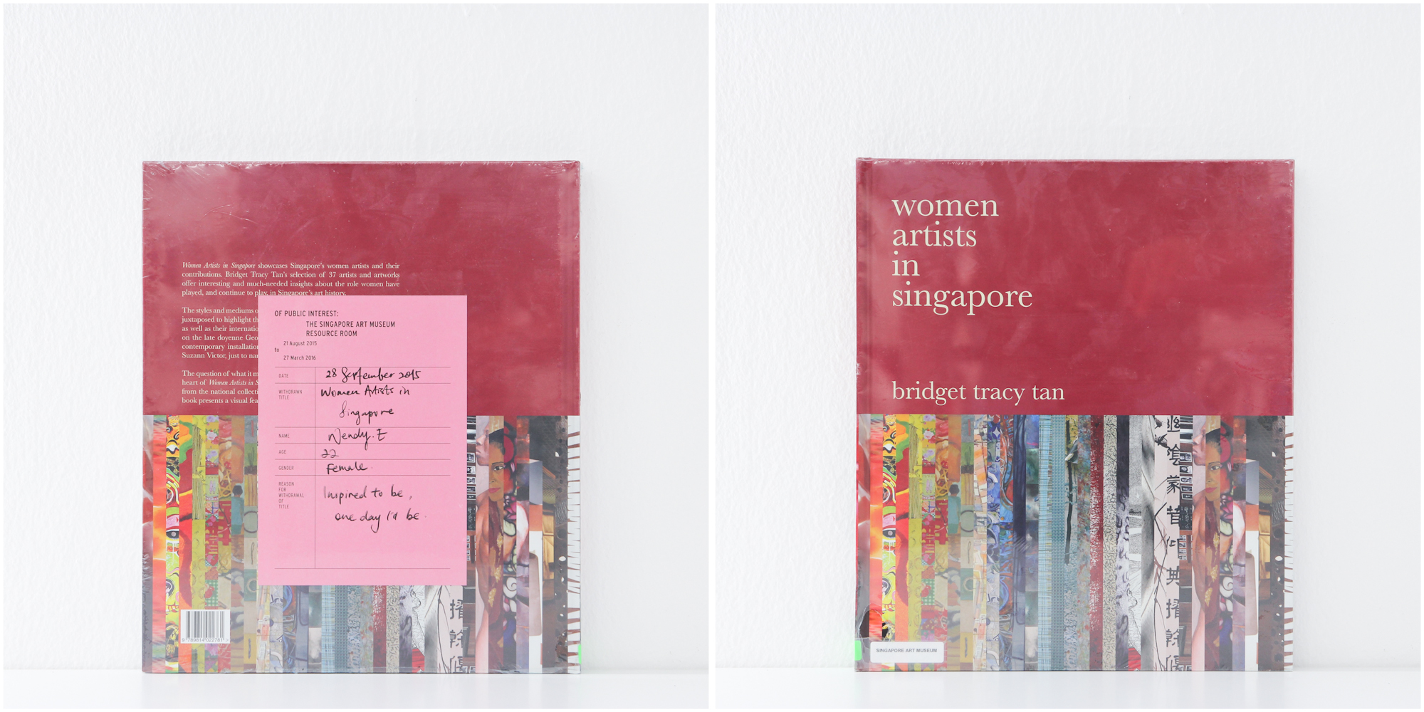 'Women Artists in Singapore', 28/9/15, Wendy E, 22, Female