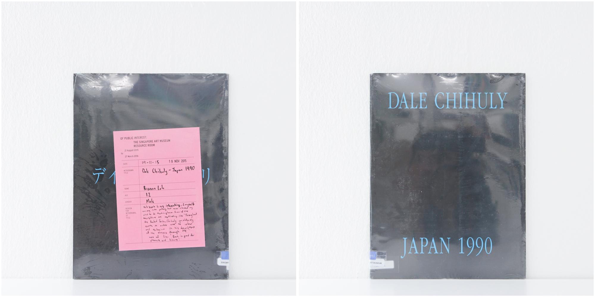 'Dale Chihuly, Japan 1990', 19/11/15, Brenon Loh, 12, Male