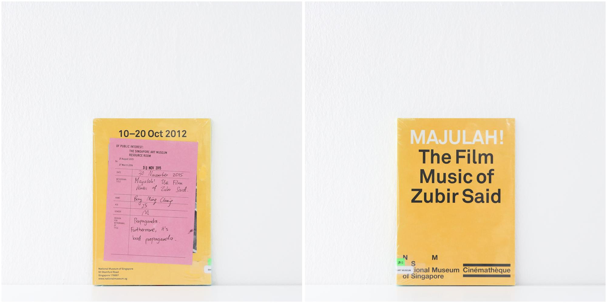 'Majulah! The Film Music of Zubir Said', 30/11/15, Bay Ming Ching, 25, Male