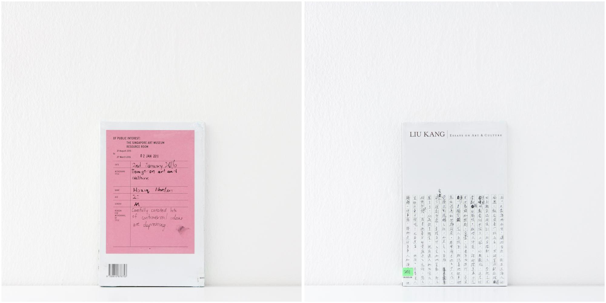 'Liu Kang: Essays on Art and Culture', 2/1/16, Haziq Nordin, 22, Male