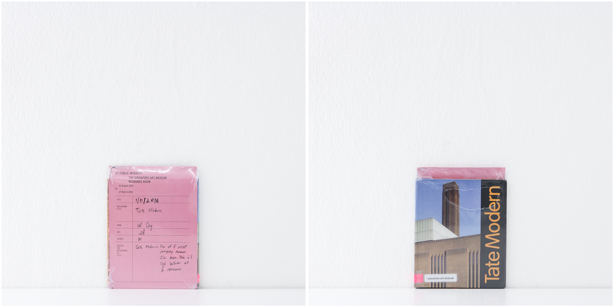 'Tate Modern', 1/11/15, SR Ong, 29, Male