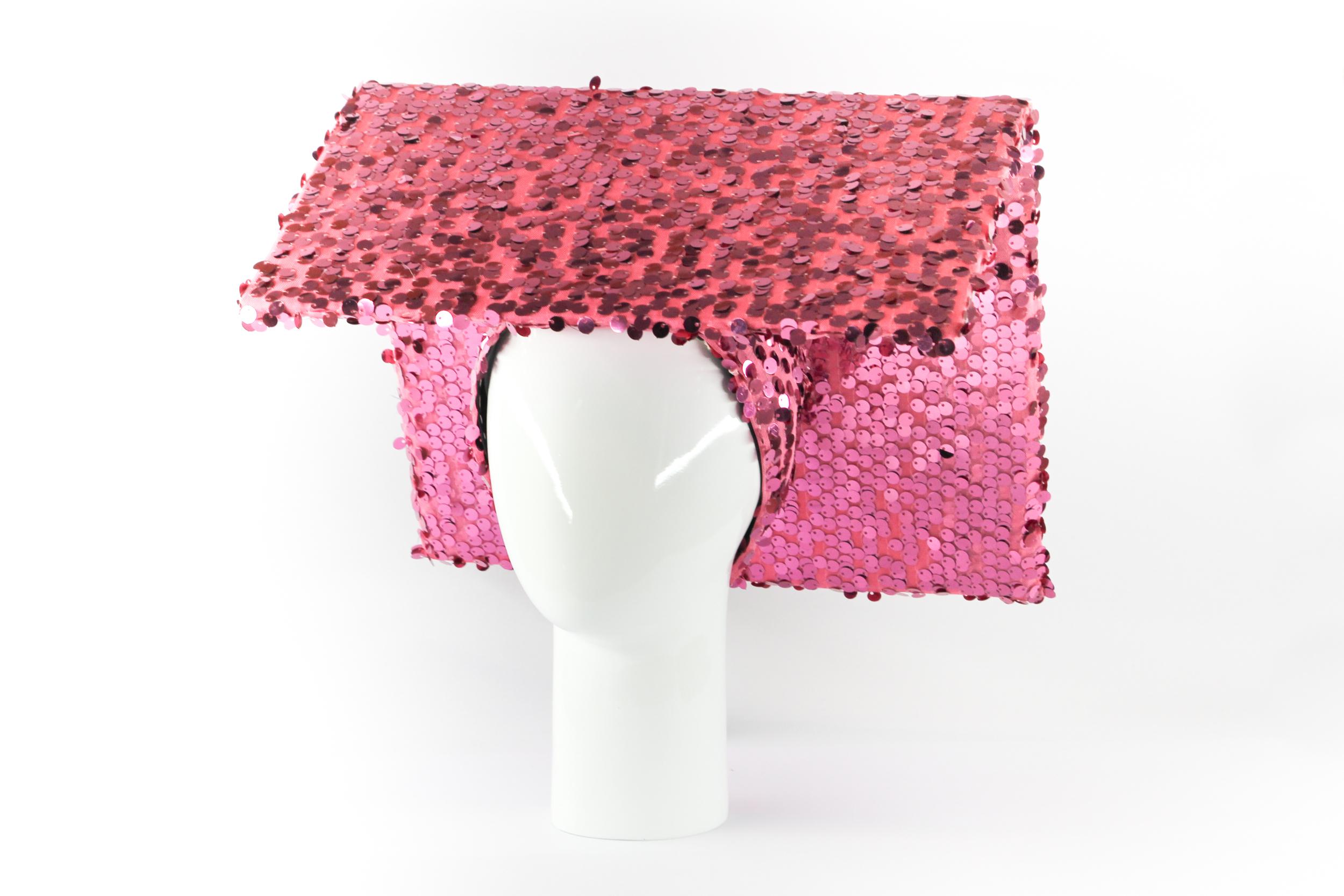 Samsui women glitter hat