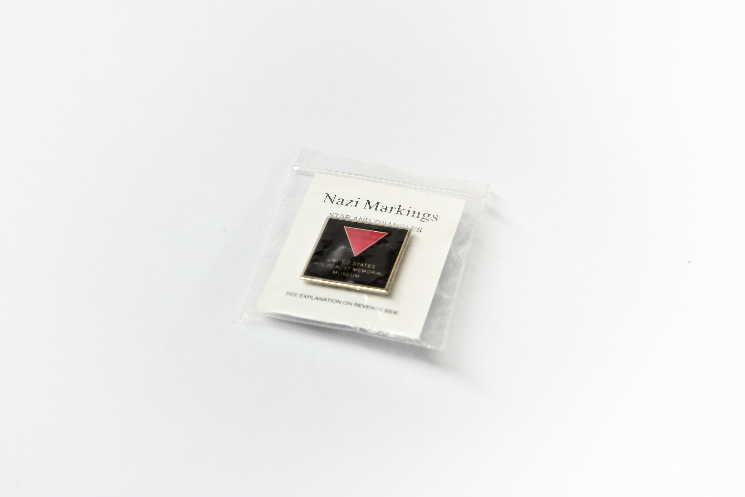 'Pink triangle' pin
