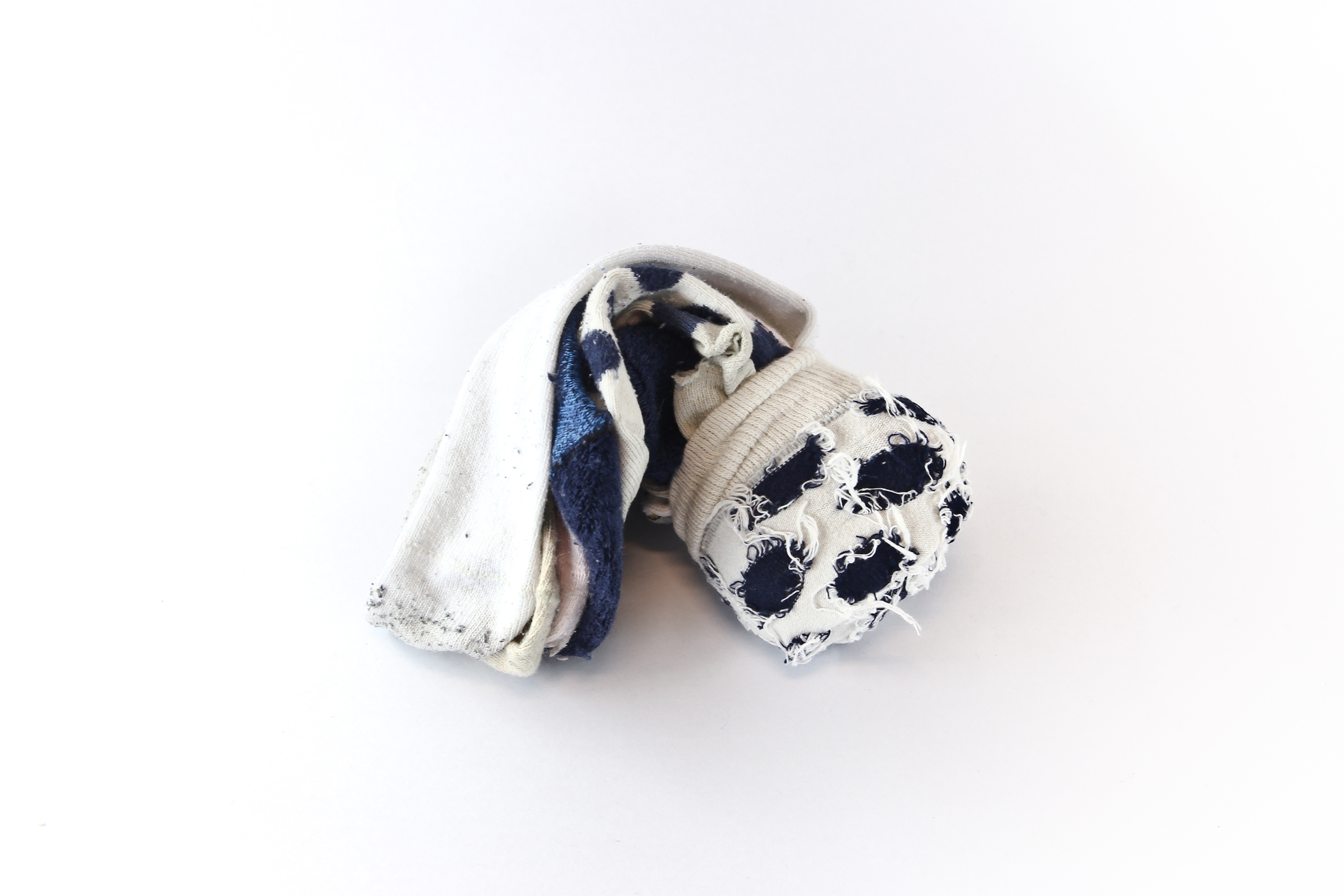 Roll of one-sided socks