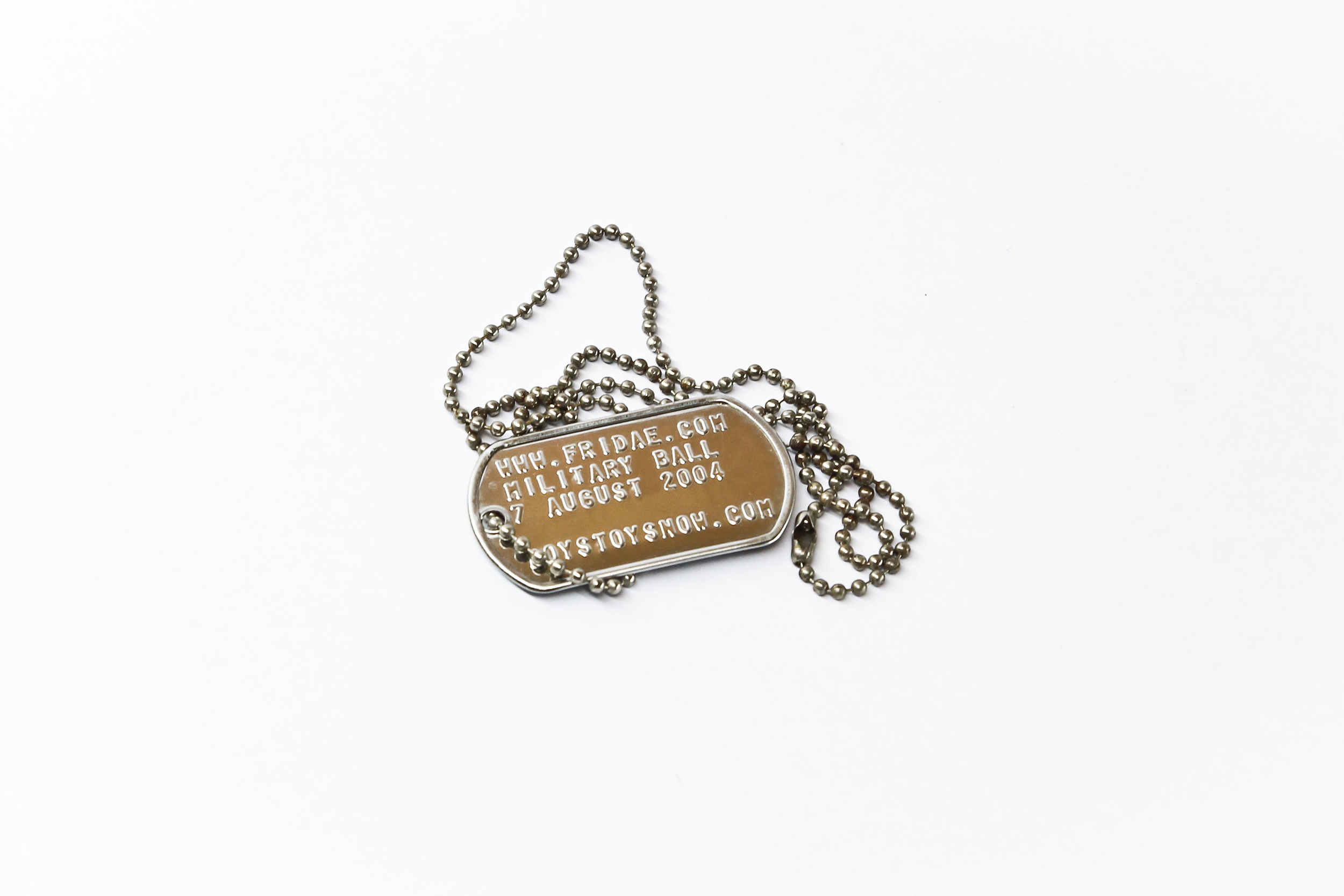 'Nation' (event) dog tag