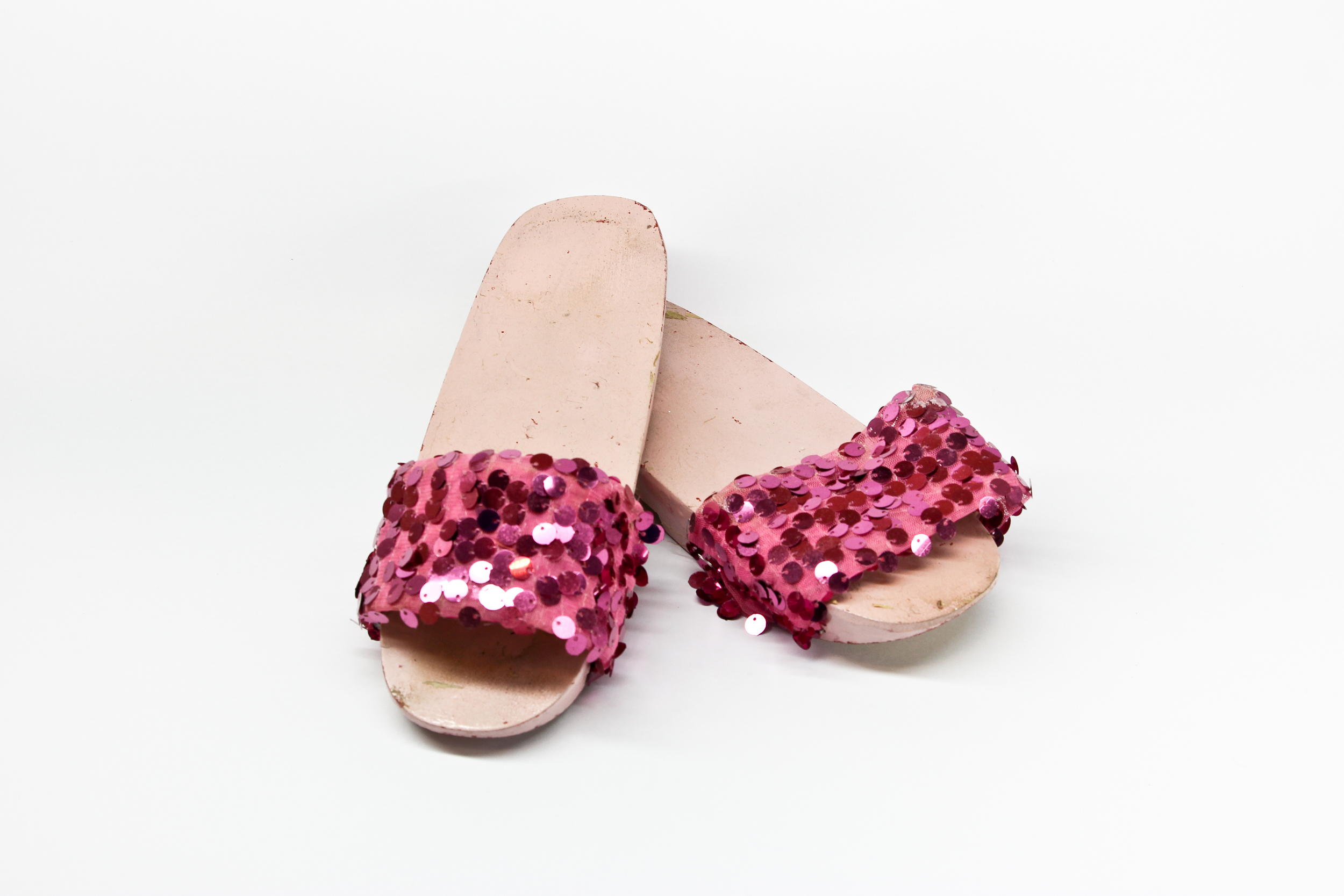 Samsui women glitter clogs