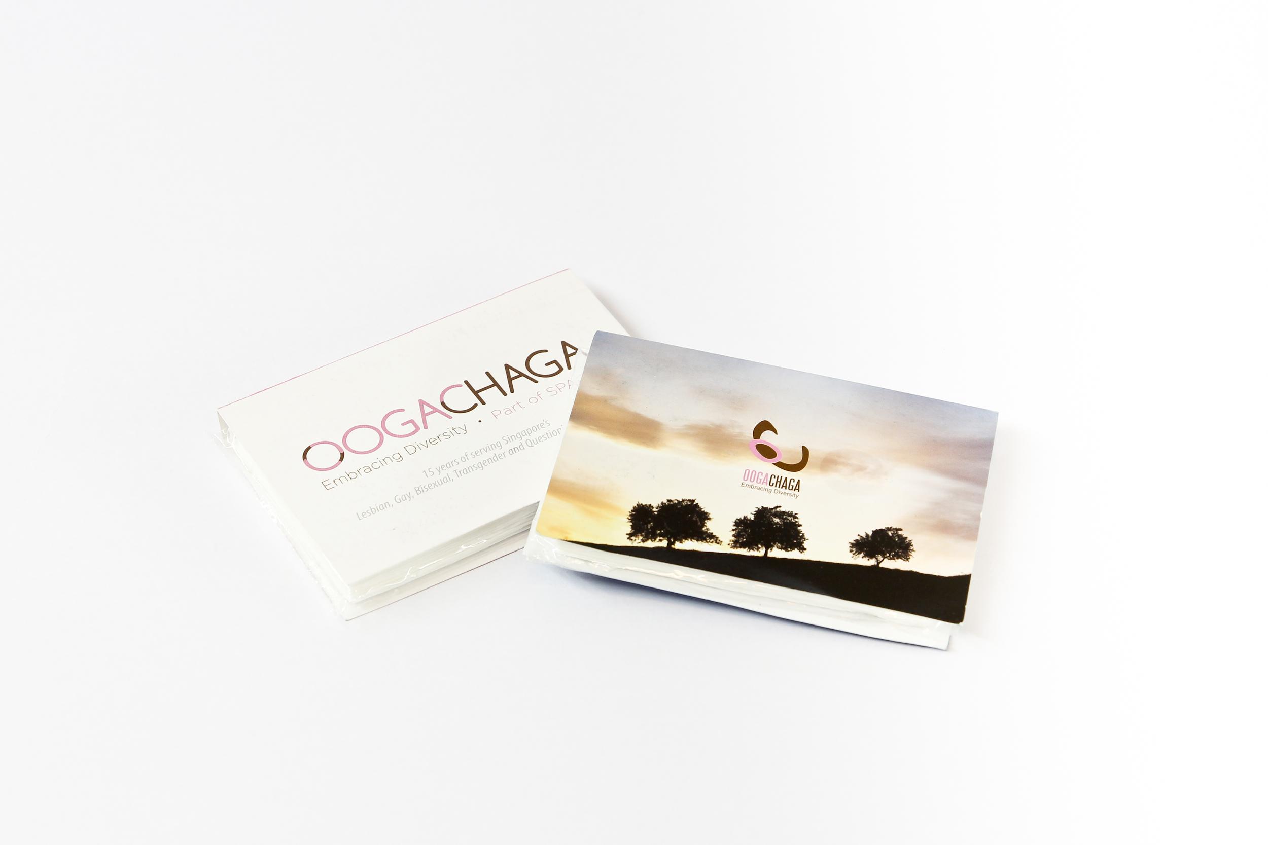'Oogachaga' (organisation) tissue packets