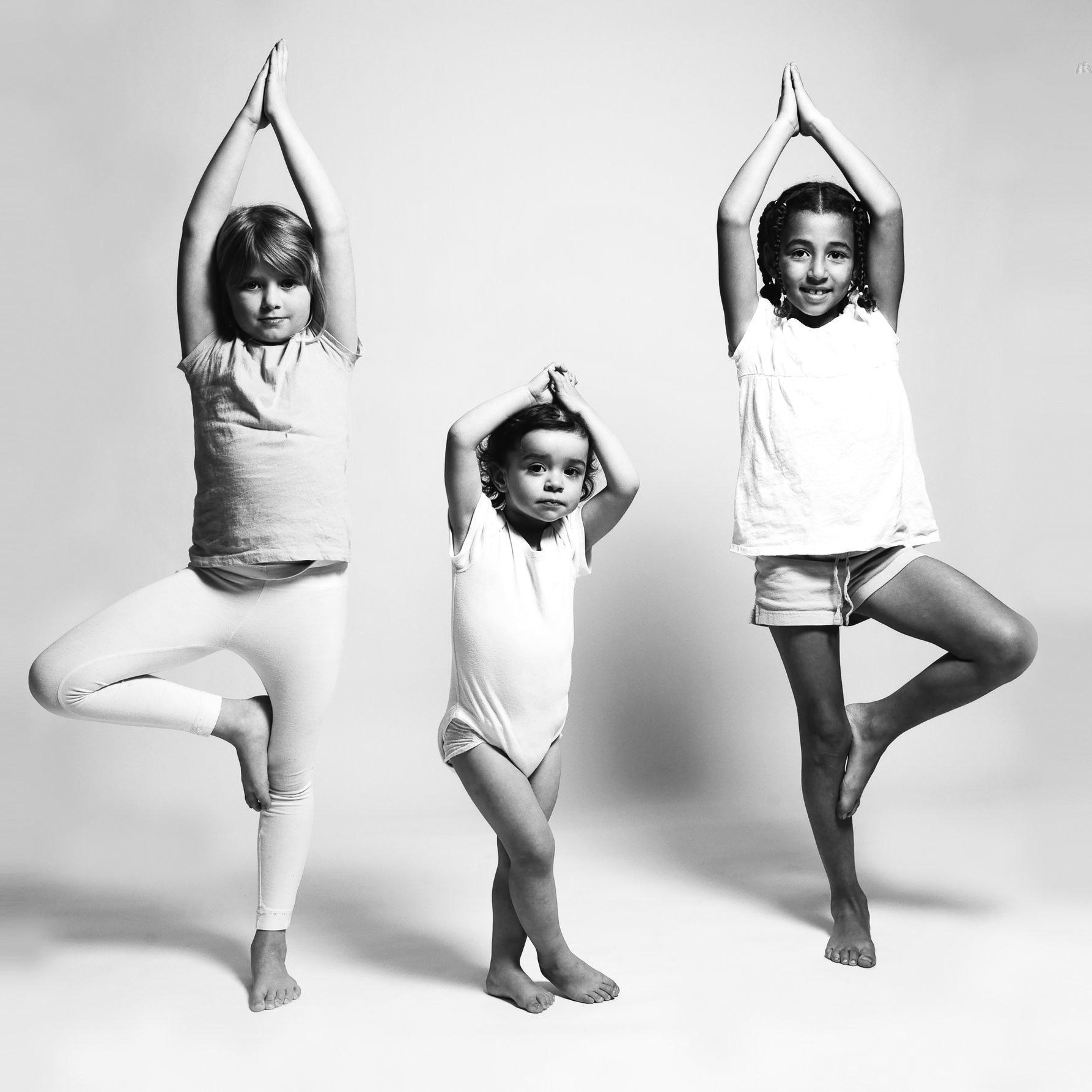 Dynamic, playful, and specifically geared classes instruct yoga for each age group. Pranayama, restorative poses, & relaxation offer students a chance to recharge and fill their well during the phases of life.   Offerings Include:  • Family Yoga Classes • Ages 3–6 Series • Ages 7–10 Series • Ages 11–13 Series • High School Series • Kids 3-Pack Introductory Offer