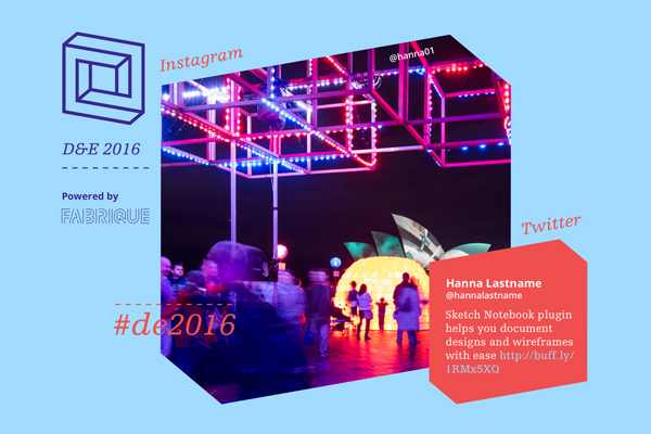 Internship project: Livewall for D&E Conference 2016