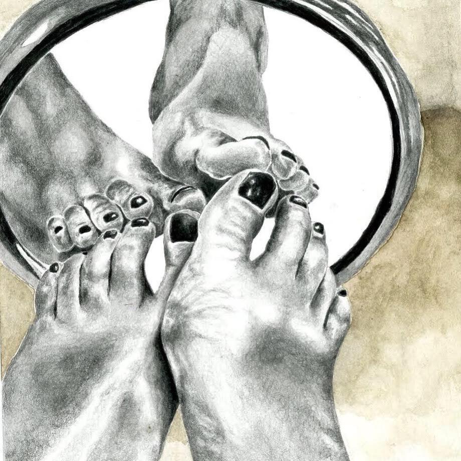 Feet in the Desert - Stefani Shoreibah