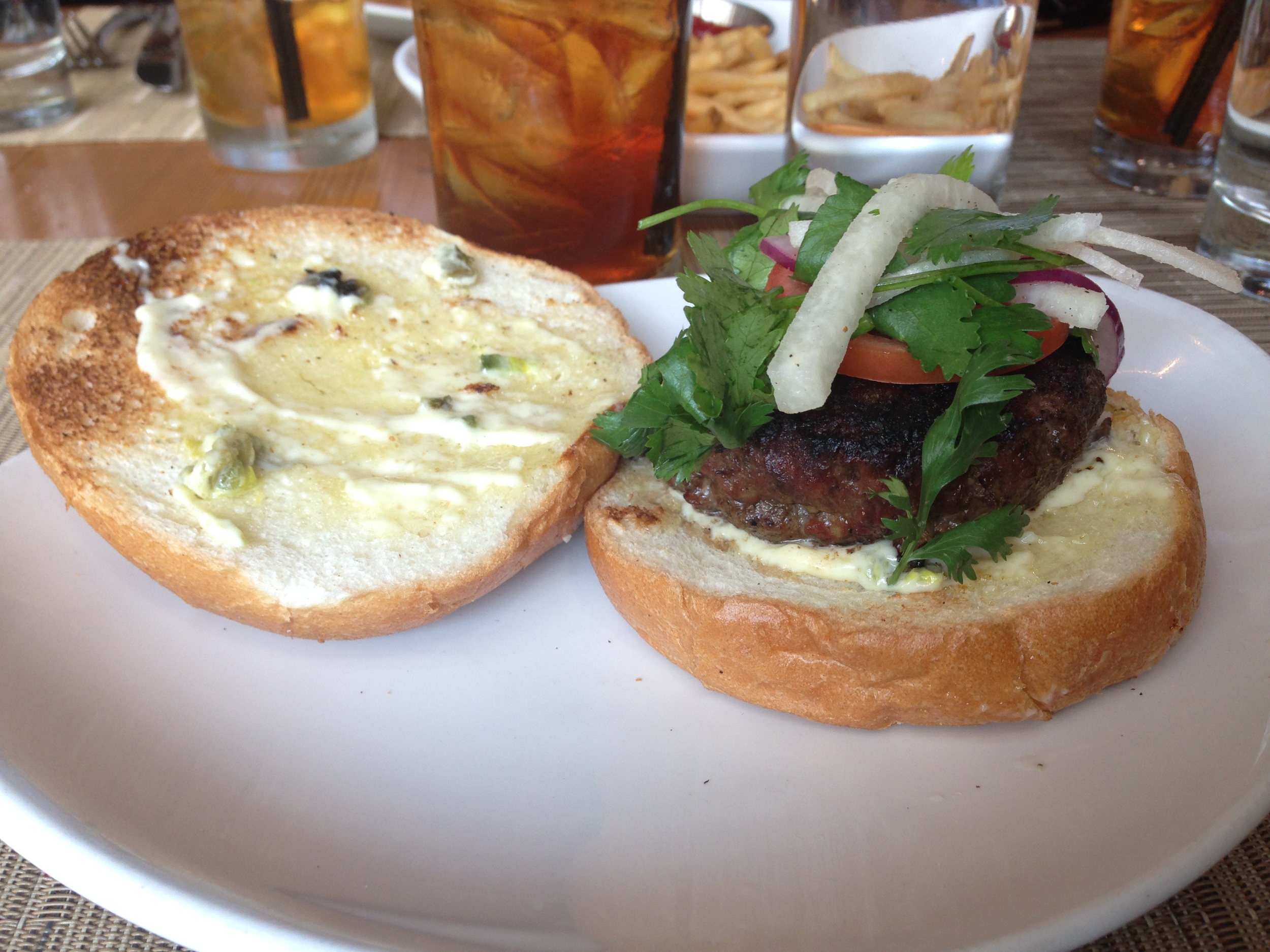 Yucatan Burger - Davis Street Tavern  (photo via @kelsey_wilkins)