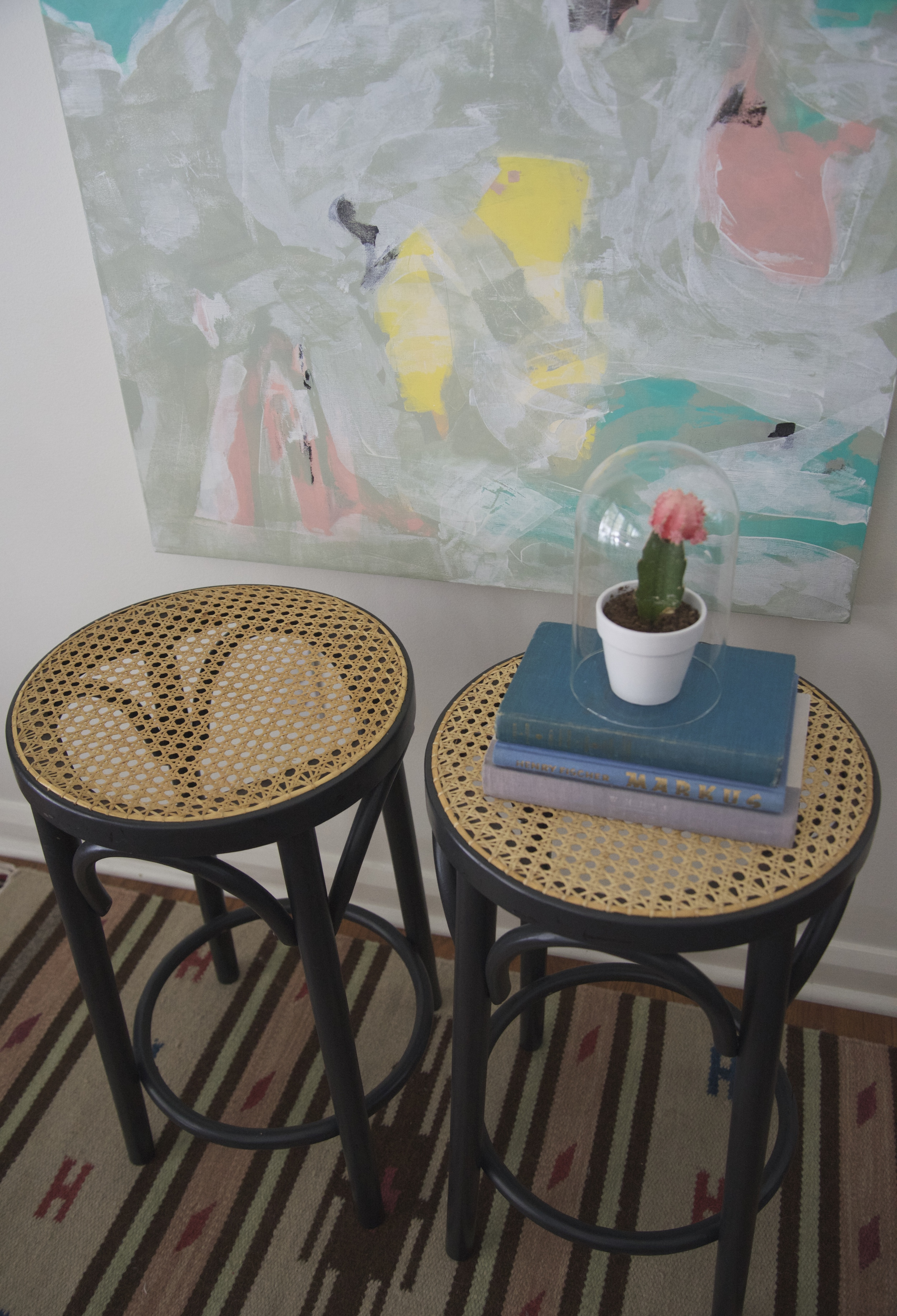 Bentwood stools...aren't they pretty?