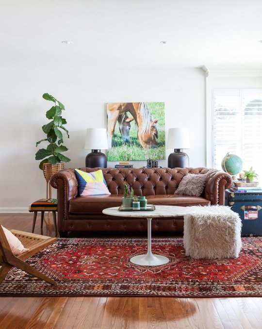 Our living room. Photo by Lauren Kolyn