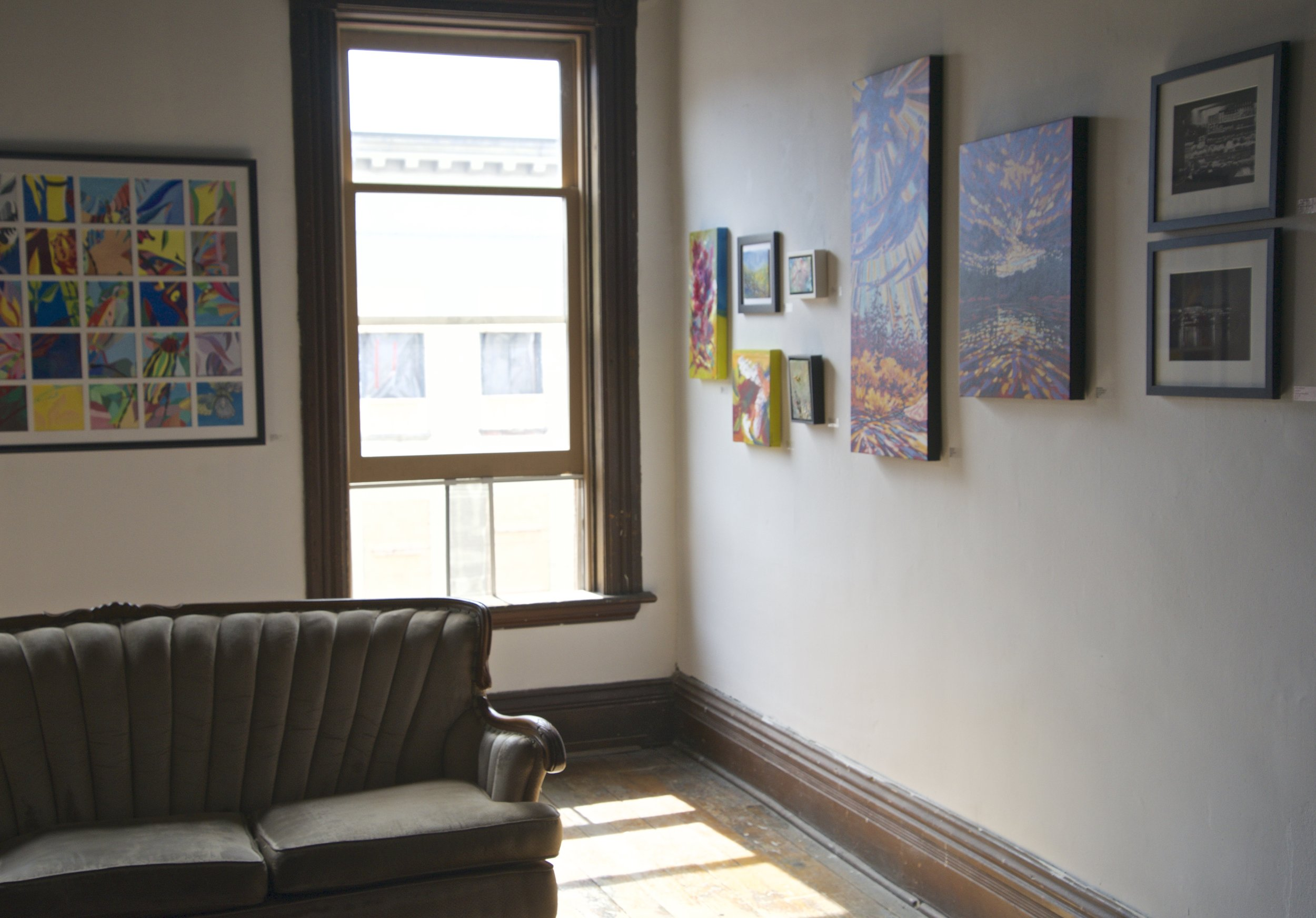 I have a few paintings hanging in the group show at Gallery in the Attic. The Kawartha Artists Studio Tours are also on this weekend, shop local and buy original art folks!