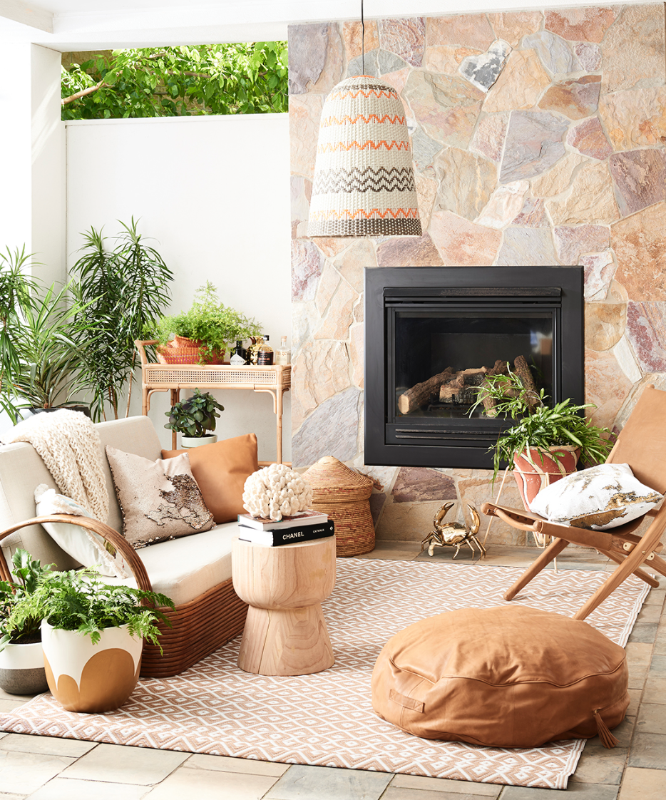 This outdoor collection is perfect for the warm climate they have. There is still snow on the ground outside my window even though it is officially Spring. The planter on the left was inspiration for my painting  Plant Study #9.