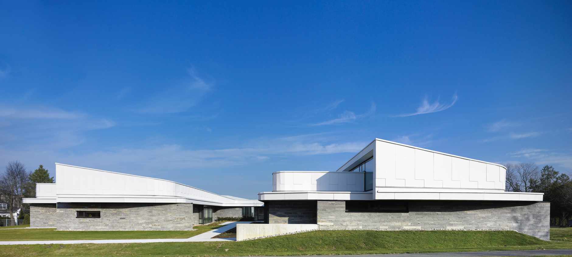 I didn't take an exterior shot of the entire building, this photo is by Teeple Architects.