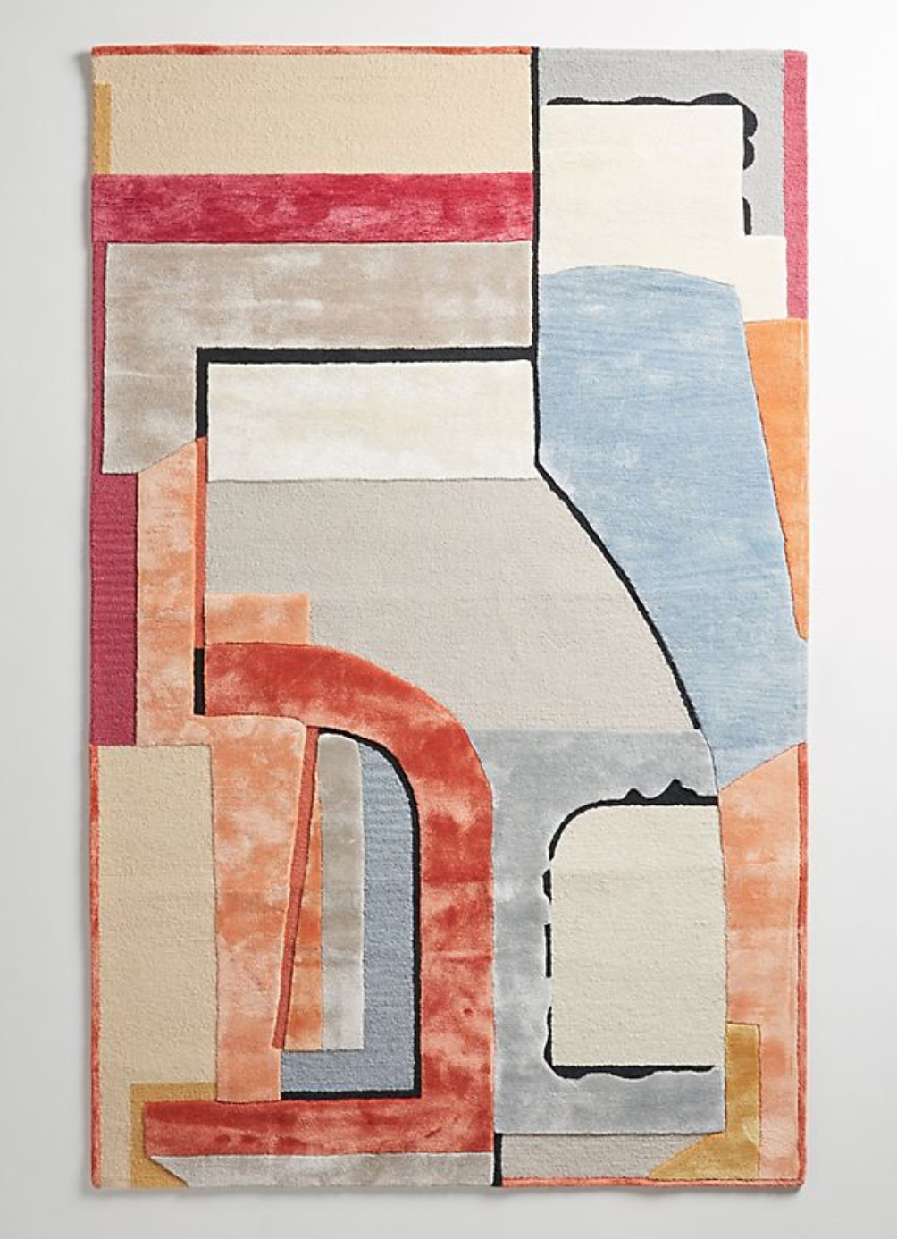 Rug designed by Rebekah Goldstein for  West Elm