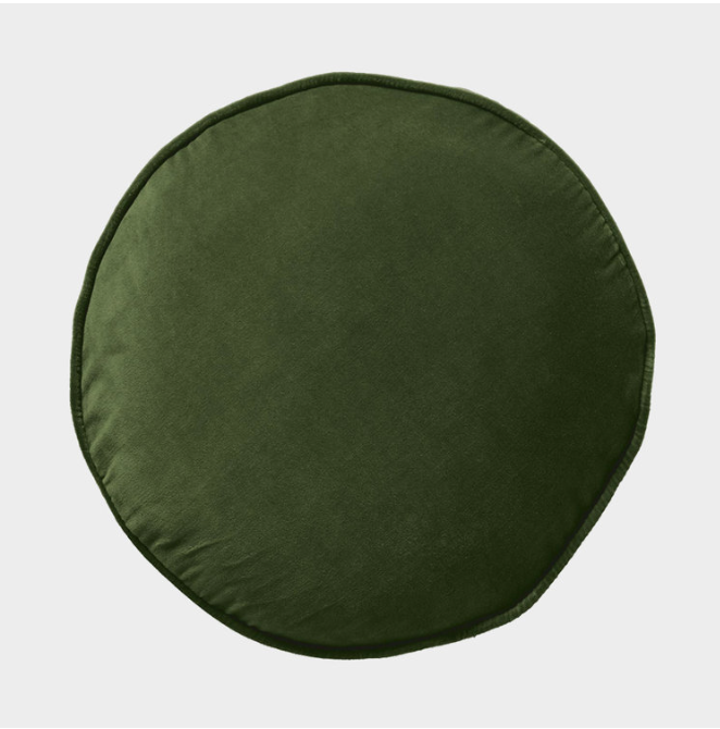 Kombu Green Velvet Pea Pillow