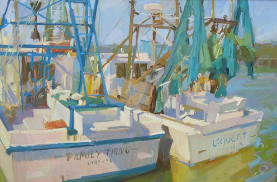 Shrimpers, 24x36