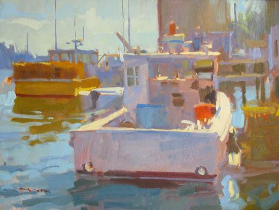 Friendship Harbor, 56x72