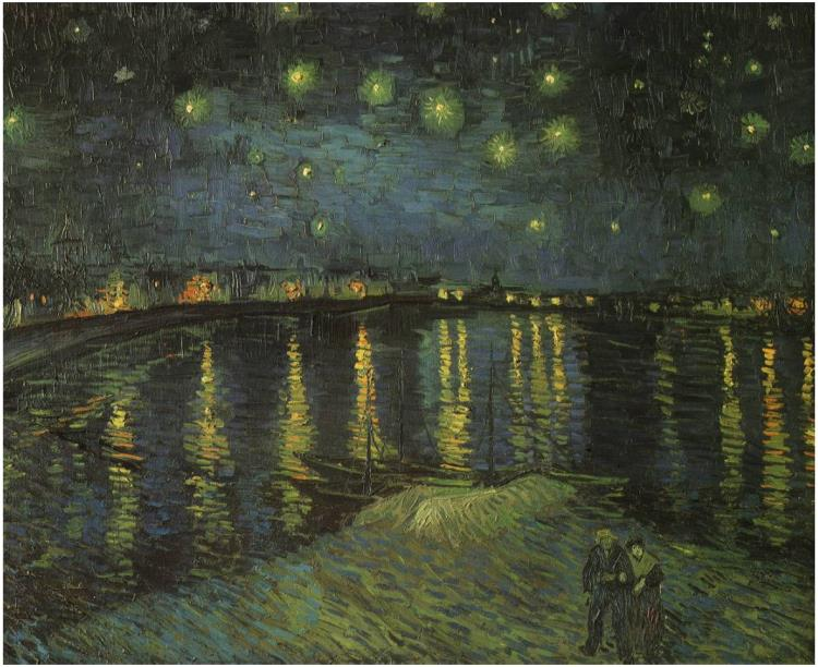 Van Gogh, Starry Night Over the Rhone