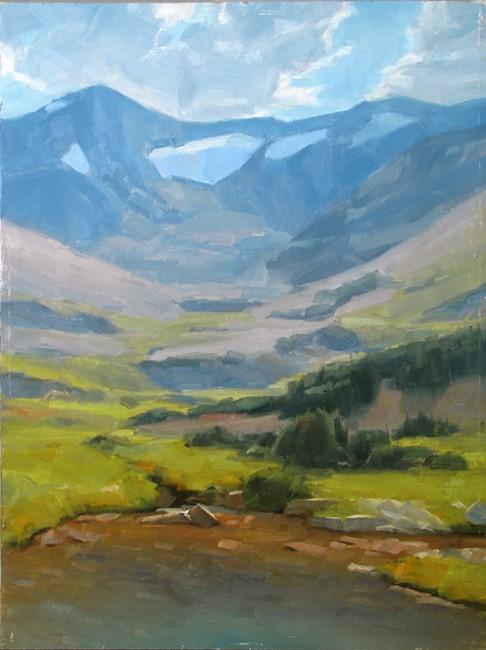 Autumn Divide, 12x9, oil