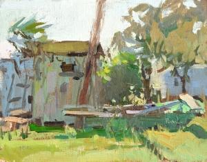 His Granny's House by Lori Putnam, 8x10