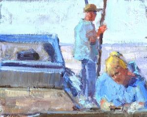 Tongin' and Cullin' by Lori Putnam, 8x10
