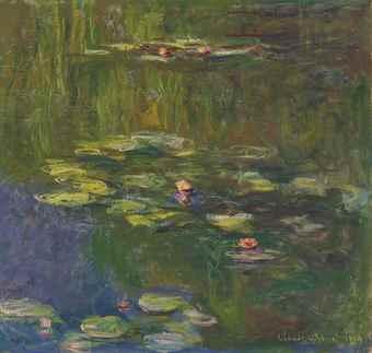 Claude Monet,Le Bassin Aux Nympheas, 1919