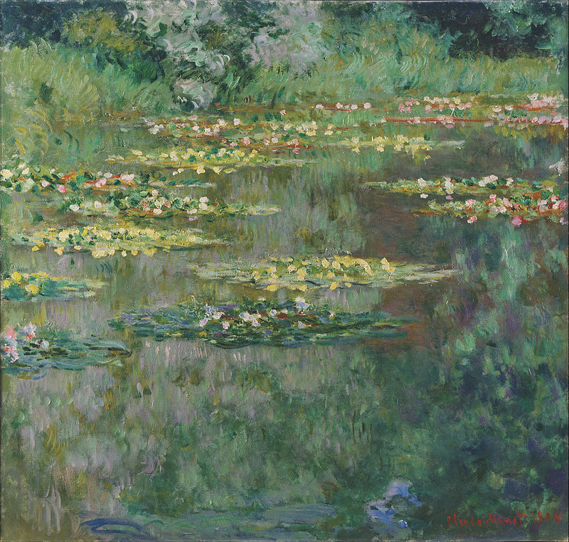 Claude Monet, Le Bassin aux Nympheas, 1904