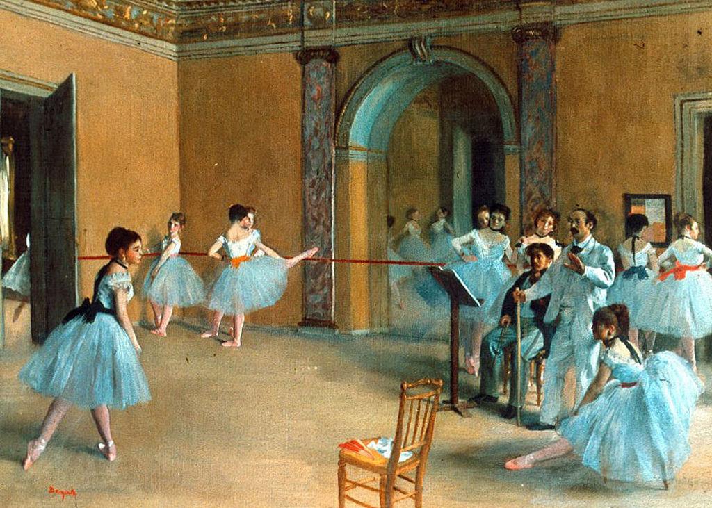 Edgar Degas, Rehearsal of the Scene, 1872