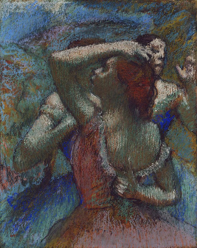 Edgar Degas, Dancers, 1900