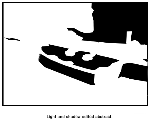 Now we have an even bigger difference proportionally. There are dozens of ways to edit this. We could have made the shadow larger instead.