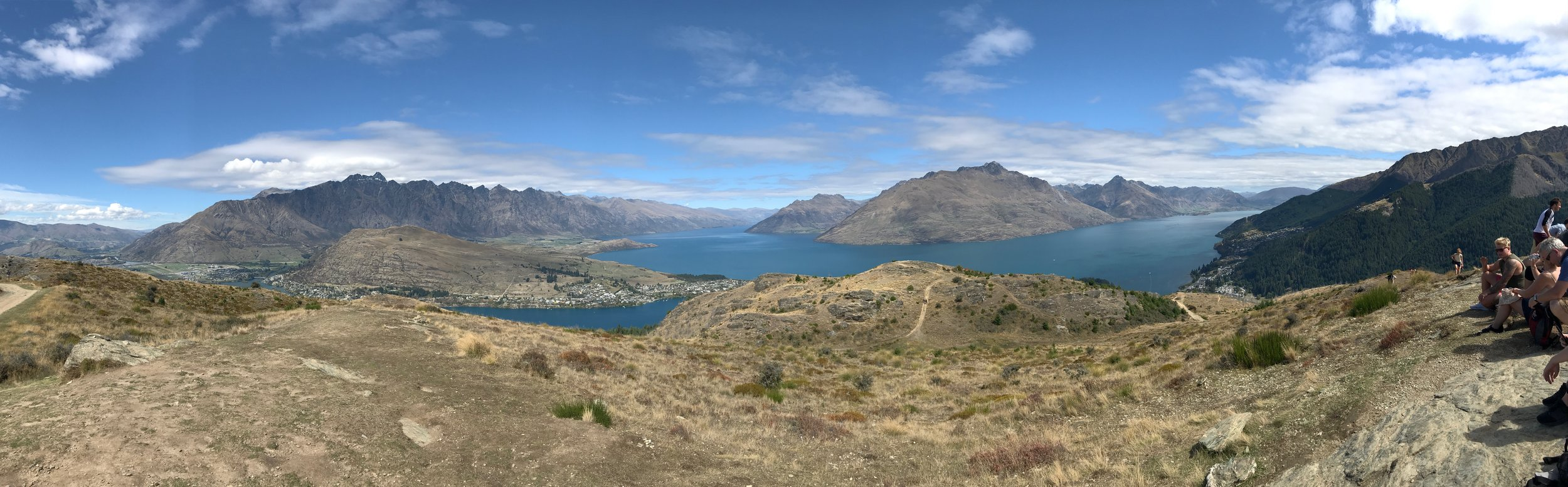 Queenstown Hill - This view was definitely worth the hike.