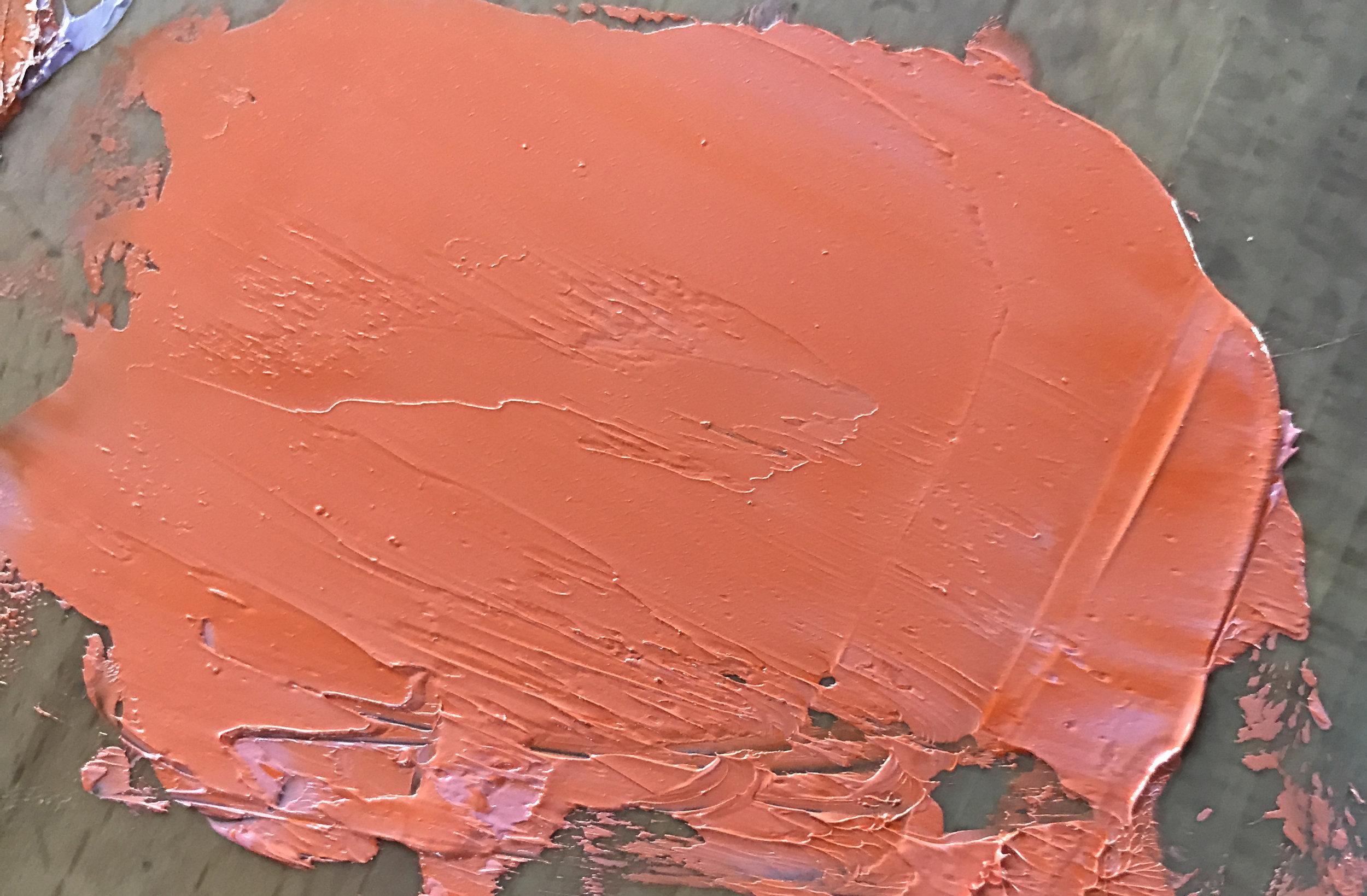 Quinacridone Magenta and Radiant Red (bright pinky orange)